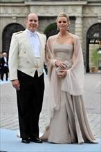 Albert II de Monaco et Charlène Wittstock