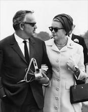 Le prince Rainier de Monaco et la princesse Grace