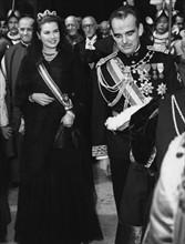 La princesse Grace et le prince Rainier de Monaco