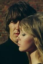 George Harrison et Patti Boyd