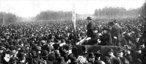 Prusse - manifestation