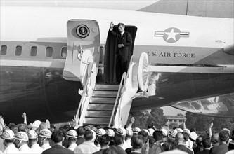 Le Président John F. Kennedy lors d'une visite à Berlin en 1963