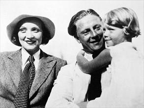 Marlène Dietrich et sa fille