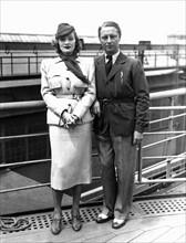 Marlène Dietrich et son mari Rudolf Sieber