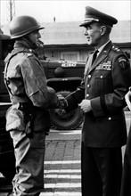 US troop transport arrives in Berlin after trip through Soviet zone