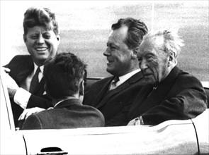 John F. Kennedy - State visit in FRG