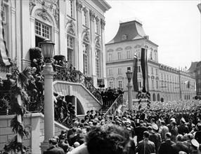 US-President Kennedy in Bonn