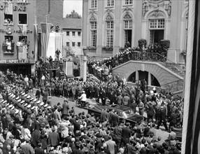 US-President Kennedy at Bonn