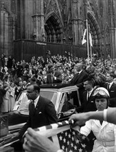 President Kennedy's visit in the Federal Republic of Germany
