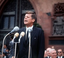 John F. Kennedy - State visit in the FRG