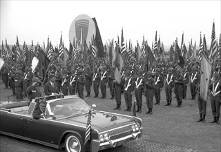John F. Kennedy in Hanau 1963