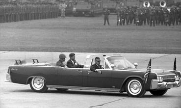 John F. Kennedy in Hesse 1963