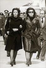 Christina Onassis et Jacqueline Kennedy-Onassis