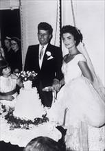 Mariage de John F. Kennedy et de Jacqueline Bouvier