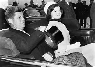Election du président John F. Kennedy