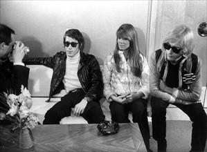 Jacques Dutronc, Françoise Hardy et Michel Polnareff (1967)