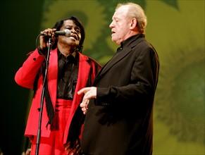 James Brown et Joe Cocker