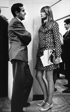 Francoise Hardy et Lorenzo Bandini (1966)