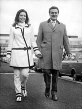 Patrick Macnee et Diana Rigg