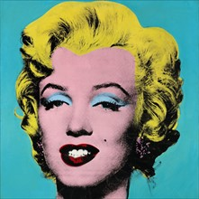 Marilyn Turquoise, d'Andy Warhol
