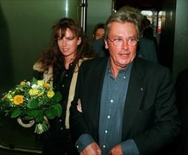 Alain Delon et Rosalie van Breemen
