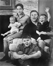 Kirk Douglas et ses quatre fils