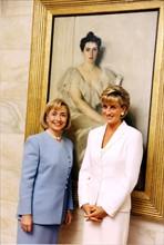 Hillary Clinton et Lady Diana, 1997