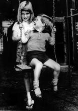 Diana Spencer et son frère Charles, 1967