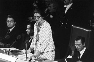 Premier débat du Parlement européen le 18 juillet 1979