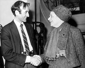 Elie Wiesel et Marguerite Yourcenar