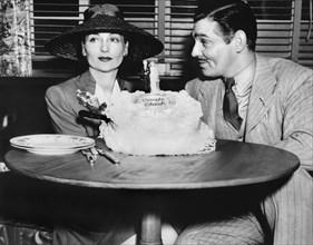 Clark Gable et Carole Lombard