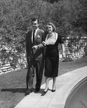 Clark Gable et Kay Williams