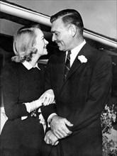 Clark Gable et Sylvia Ashley