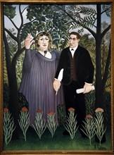 Le Douanier Rousseau, La muse inspirant le poète