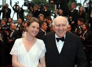 Michel Piccoli et sa fille Missia, 2013