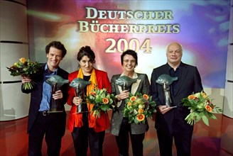 Lauréats 2004 salon du livre de Leipzig (Allemagne)