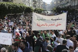 Manifestation contre Abdelaziz Bouteflika, à Alger le 15 mars 2019