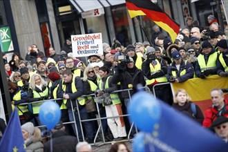 Manifestation de Gilets Jaunes, janvier 2019