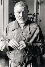Ernest Hemingway, in Paris (September 14, 1956)