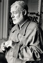 Ernest Hemingway (September 14,  1956), in Paris