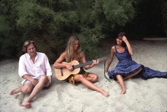 Jean-Jacques Debout, Brigitte Bardot, Chantal Goya