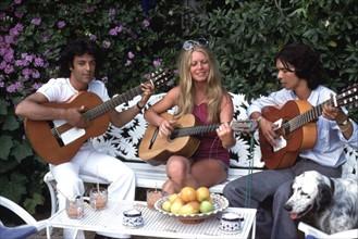 Brigitte Bardot et les Gipsy Kings