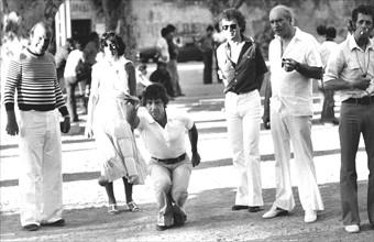Sacha Distel, St Tropez, 1977