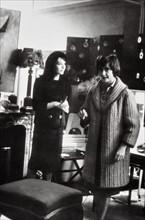 Françoise Sagan et Juliette Gréco