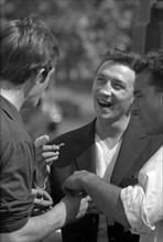 Jean-Paul Belmondo et Claude Brasseur
