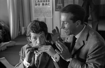 Jean-Paul Belmondo et Albert Raisner