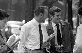 Jean-Paul Belmondo et Jacques Dupont