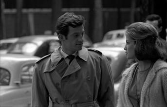 Jean-Paul Belmondo et Alexandra Stewart