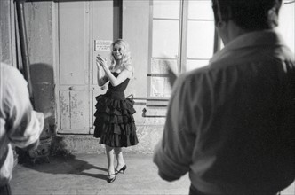 Brigitte Bardot en cours de flamenco
