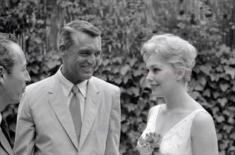 Cary Grant et Kim Novak à Cannes